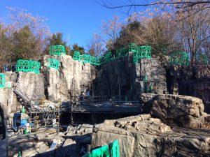 擬岩補修 造形 彩色